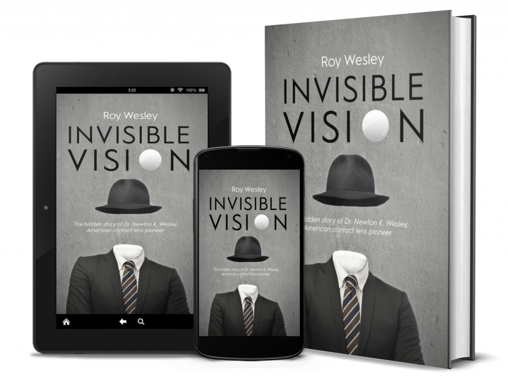Invisible Vision 3D Book Cover